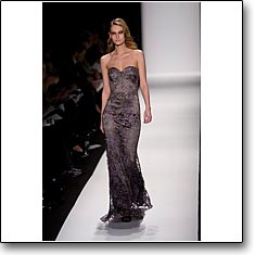 Badgley Mischka Fashion Show New York Autumn Winter '08 '09 © interneTrends.com model Tatiana Usova