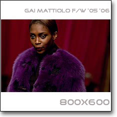 Click to download this wallpaper Gai Mattiolo F/W 06