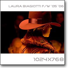 Click to download this wallpaper Laura Biagiotti F/W 06