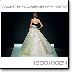 Click to download this wallpaper Valentin Yudashkin F/W '06 '07