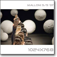 Click to download this wallpaper Malloni S/S '07
