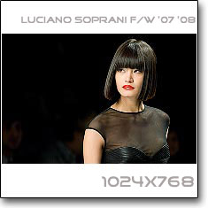 Click to download this wallpaper Luciano Soprani S/S '07 '08