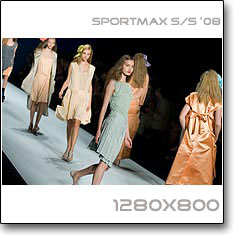 Click to download this wallpaper Sportmax S/S  '08