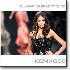 Click to download this wallpaper Zuahir Murad F/W '10 model Roza Gough