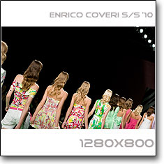 Click to download this wallpaper Enrico Coveri S/S  '10