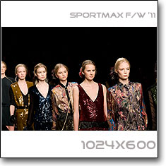 Click to download this wallpaper Sportmax F/W '11