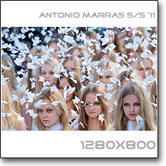 Click to download this wallpaper Antonio Marras S/S  '11