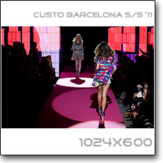 Click to download this wallpaper Custo Barcelona S/S '11