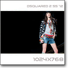Click to download this wallpaper DSquared 2  S/S '12