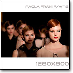 Click to download this wallpaper Paola Frani F/W  '13